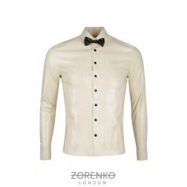 Latex Tuxedo Shirt