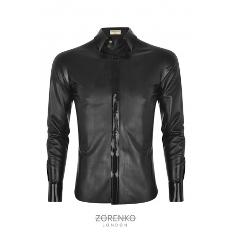 Men's Matte Latex Shirt