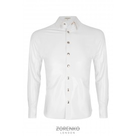 Latex Formal Shirt