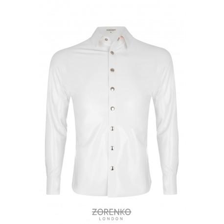 Men's Latex Formal Shirt