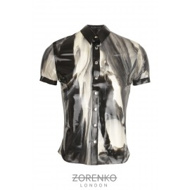 Marble Latex Mens Shirt