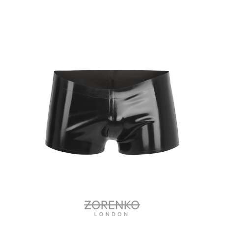Latex Shorts with lateral Marble panels