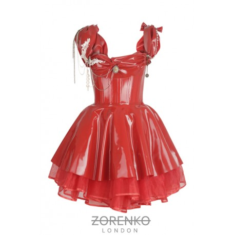 EMPRESS Latex Corset Dress