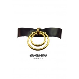 Latex Double O Ring Choker