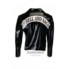 Latex Men's Biker Jacket