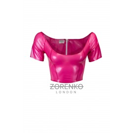 Latex Halterneck Bra/Top