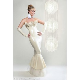 Belle Wedding/Gown Latex Dress